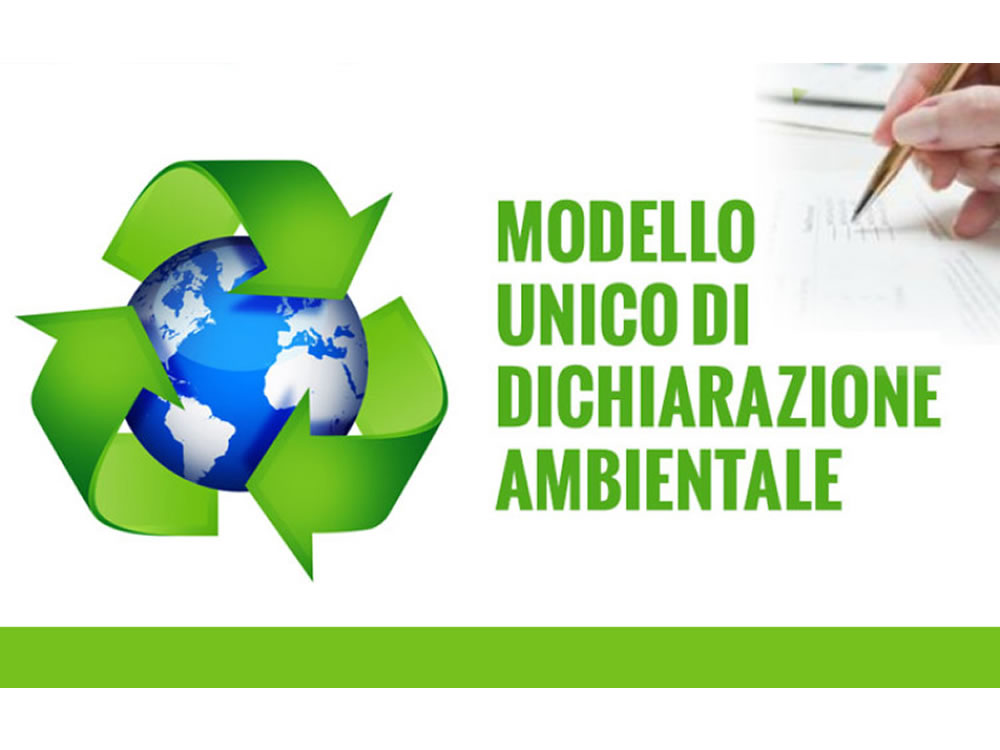 MUD 2020 – Modello Unico di dichiarazione ambientale per i rifiuti prodotti nell'anno 2019